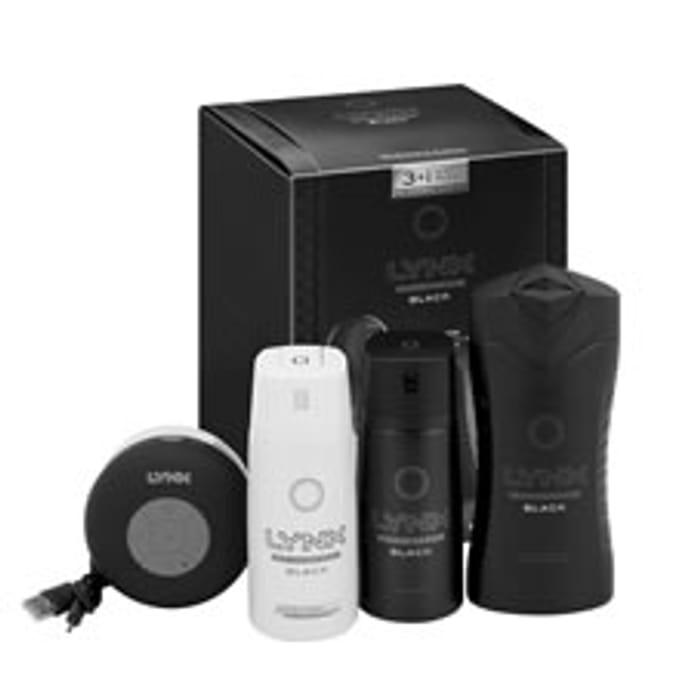 Lynx Gift Set with Shower Speaker