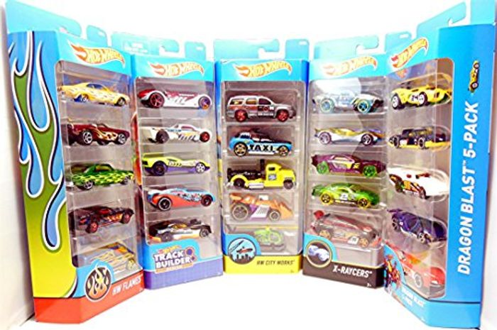 Hot Wheels Cars Hotwheels Car Set Pack of 10