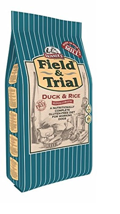 Skinner's Field & Trial Dog Food Duck & Rice 15kg £19.99 with Code