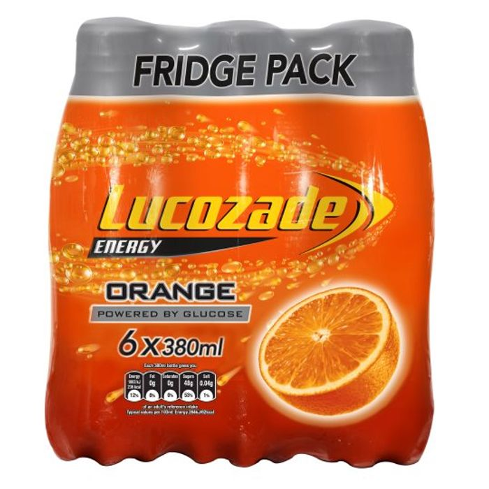 6 Pack Lucozade Only £2 in Tesco