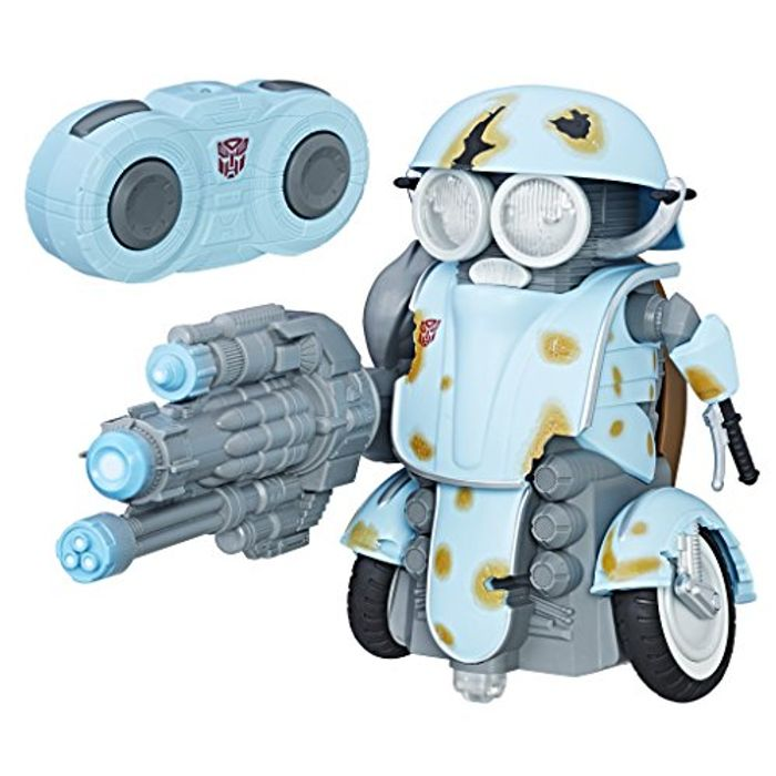 HOT DEAL! LOWEST EVER PRICE! Transformers the Last Knight Autobot Sqweeks RC