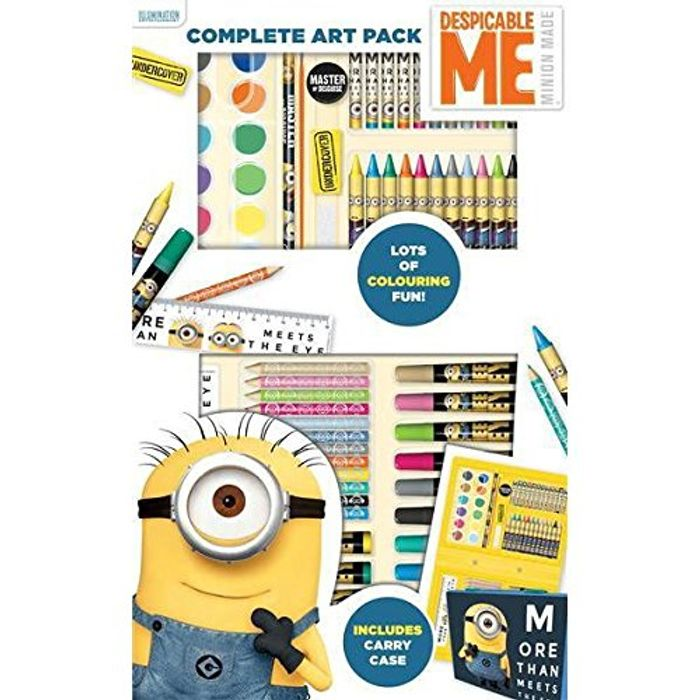 Despicable Me Complete Art Pack