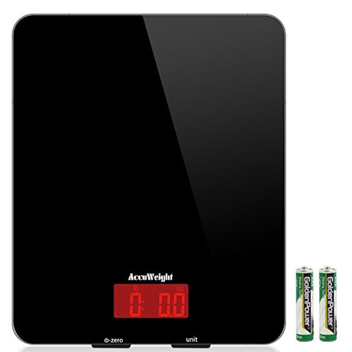 Accuweight Digital Kitchen Cooking Scale