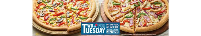 Domino's 2for1 Offer(for Tuesday)