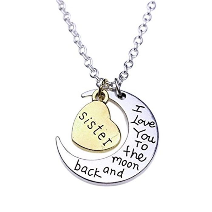 Sister Necklace on Amazon