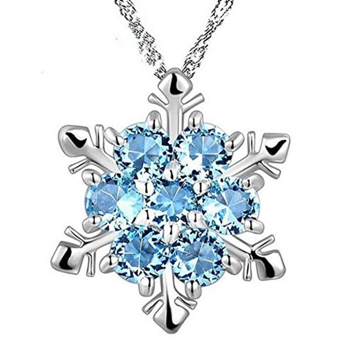 Snowflake Necklace on Amazon