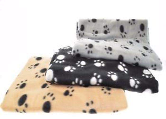 Fleece Pet Blankets 3 Colours