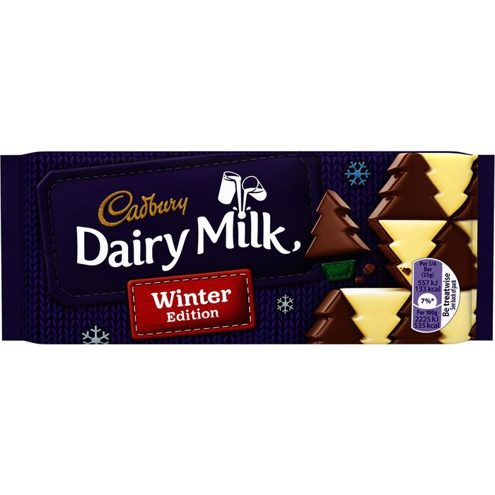 Cadbury Winter Wonderland Large Chocolate Bar