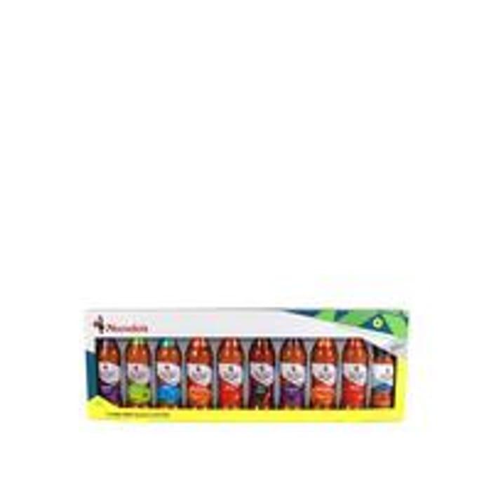Nandos Full-Works Gift Set with 9 Sauce Bottles & 1 Peri Peri Salt
