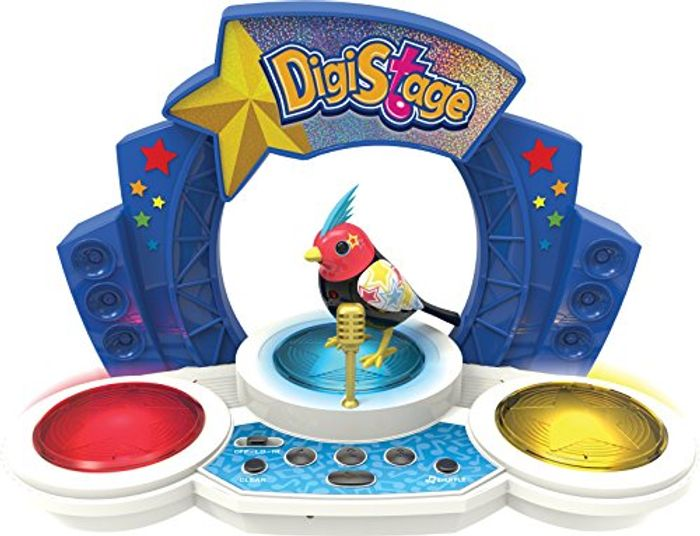 Digi Bird and Stage Toy Set.