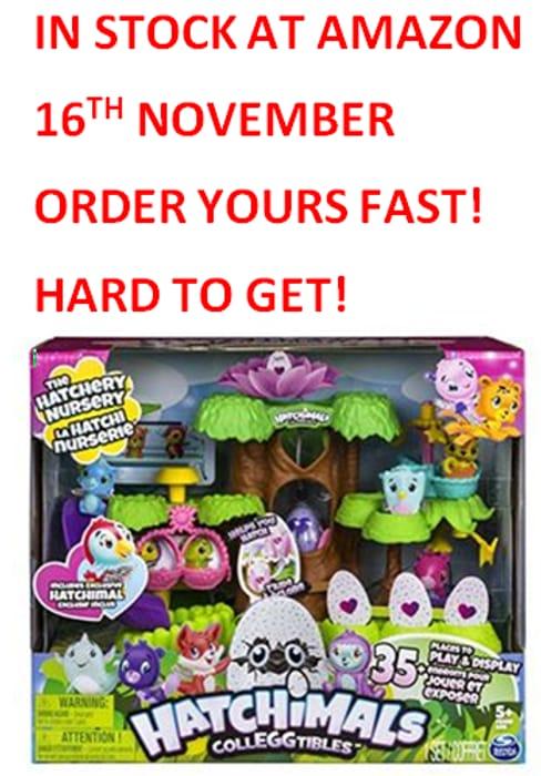 HURRY! ORDER NOW! Hatchimals Colleggtibles Hatchery Nursery. WATCH the VIDEO