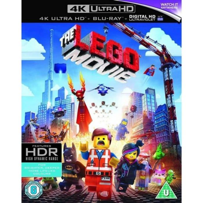 The Lego Movie 4 K Ultra Hd Blu Ray