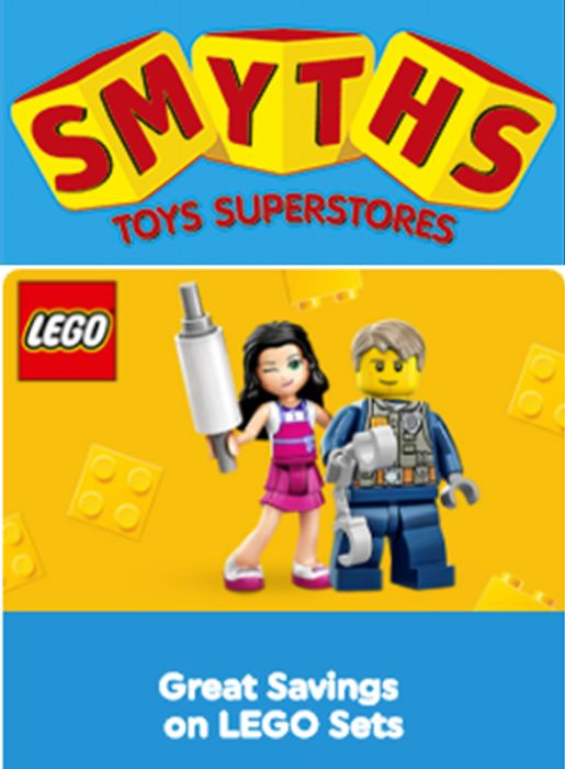 LEGO SETS Special Offers at Smyths Toys. Great Savings!