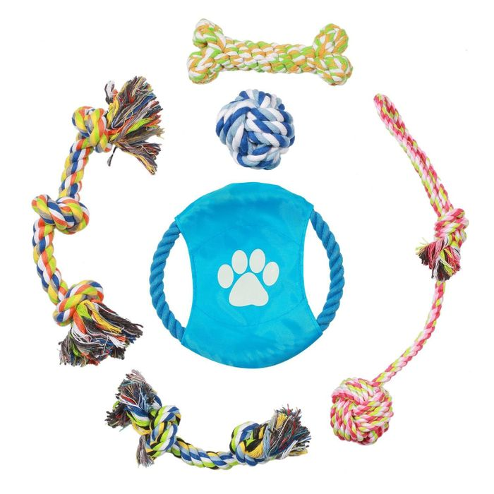 Pecute Dog Rope Toys - 6 Pack Gift Set