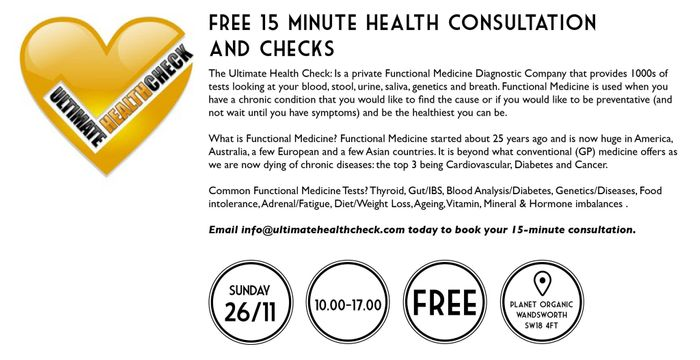 FREE 15min Health Consultation in Wandsworth