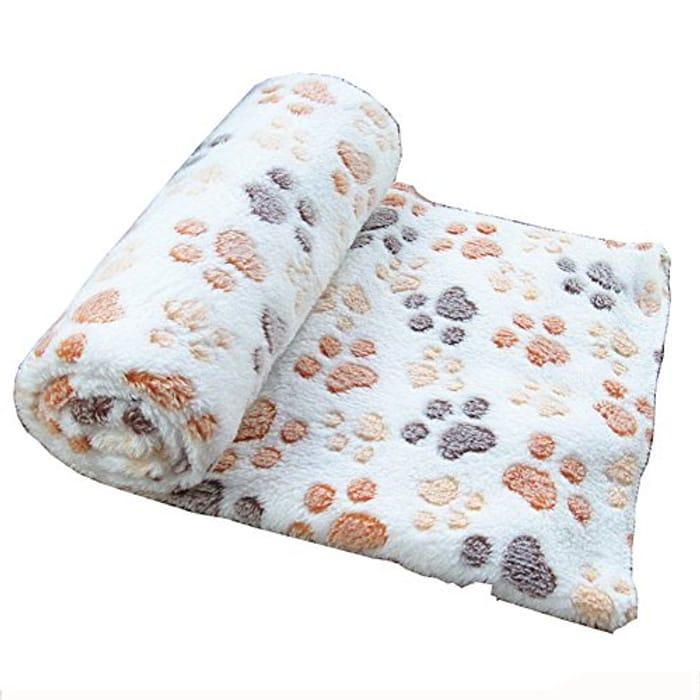 Fleece Dog Blanket.