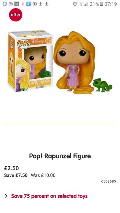 Rapunzel Vinyl Pop Figure