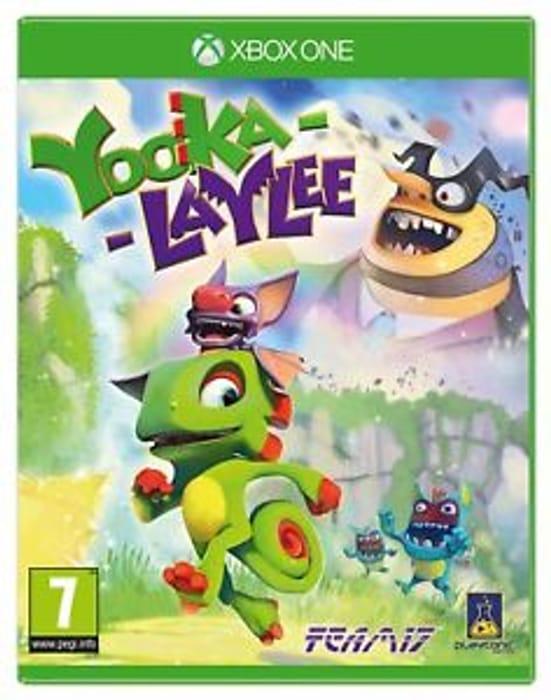 Yooka Laylee for Xbox One £12.99 at Argos on Ebay