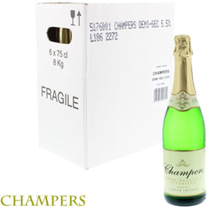 Champers Poir Mousseux Superieur (Case of 6 Bottles)