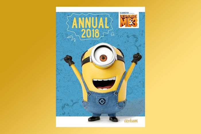 Despicable Me 3 Annual 2018 for £1
