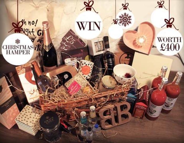 Win a £400 Multi-Brand Best of British Christmas Hamper!