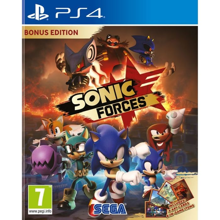 Sonic Forces - PS4/XB1/Switch