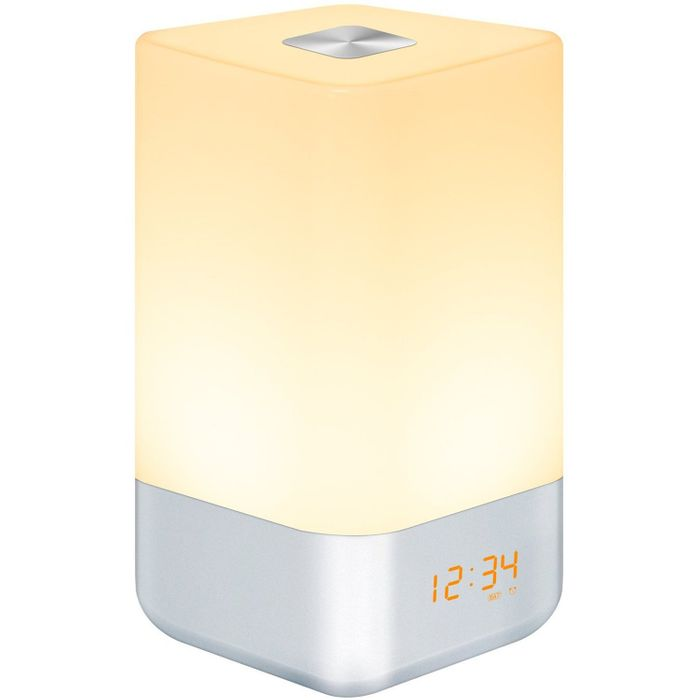 Wake-up Light Alarm Clock, Bedside Lamp with Sunrise Simulation Free Delivery