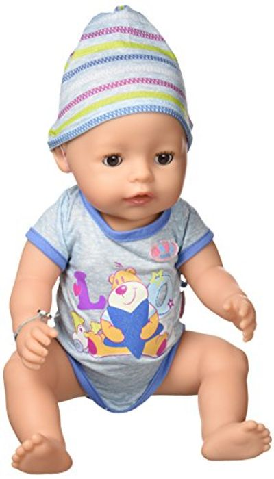 Forget Luvabeau BOY DOLL This Year. Buy a Zapf Baby Born Interactive BOY DOLL.