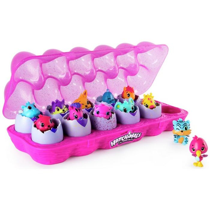 HOT TOY. BE QUICK! Hatchimals CollEGGtibles Egg Carton - 12 Pack