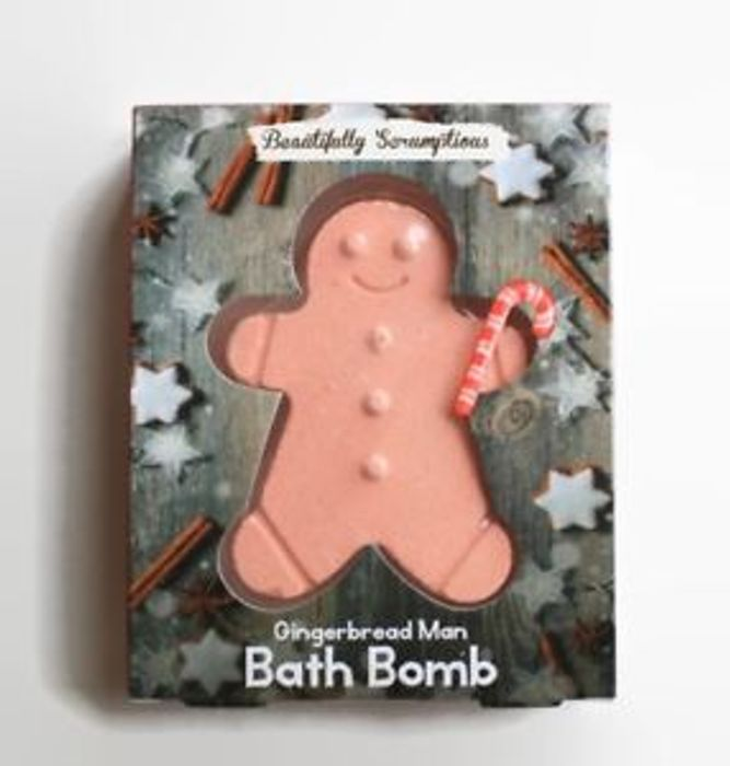 Gingerbread Man Bath Bomb (Free Delivery)