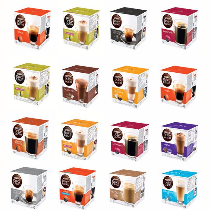 48 Nescafe Dolce Gusto Pods - 28 Flavours