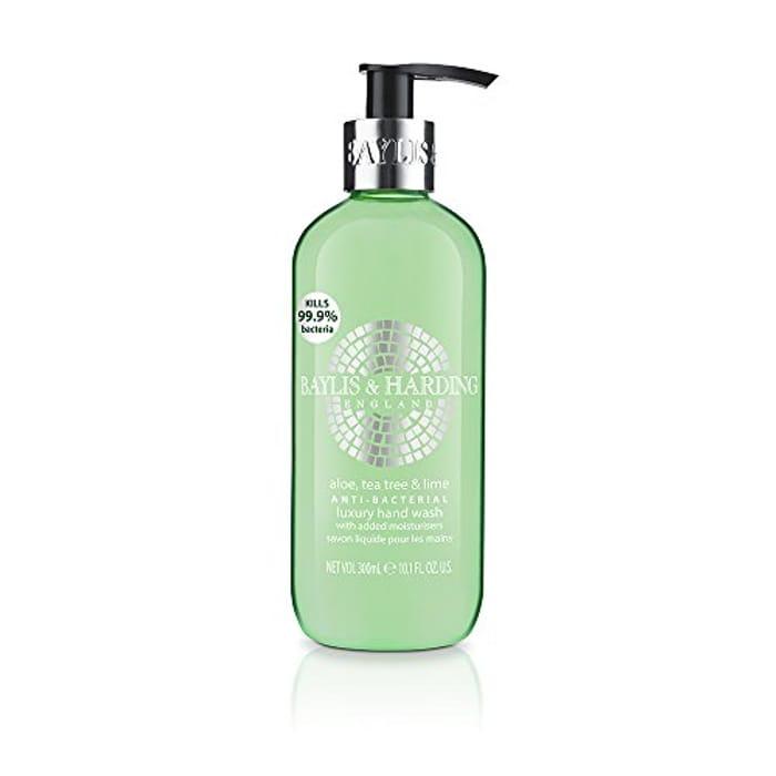 Baylis & Harding Aloe/Tea Tree/Lime Anti Bacterial Hand Wash, 300 Ml, Pack of 6