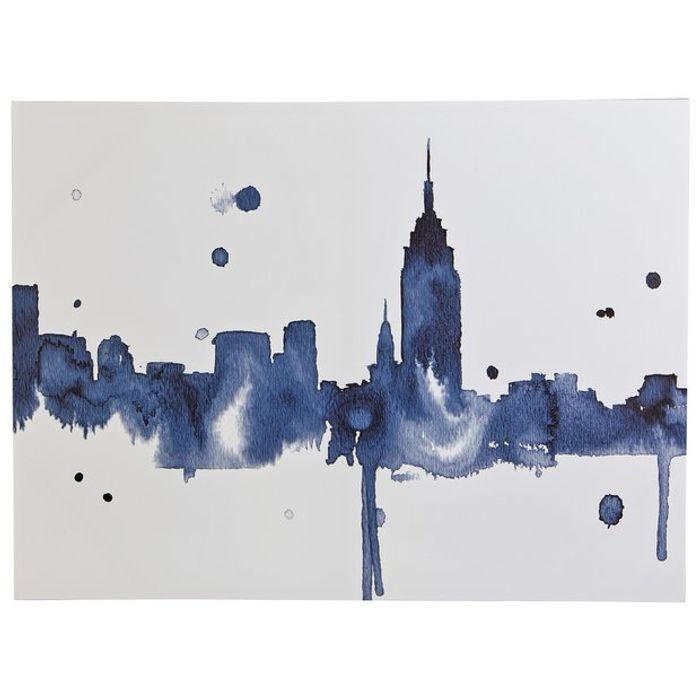 Collection Illustrative New York Printed Canvas