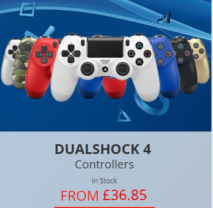 Cheap Price PS4 DualShock 4 Controllers at ShopTo + FREE UK DELIVERY