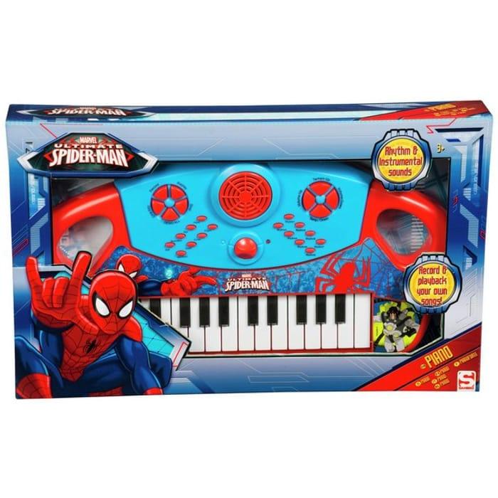 Spiderman Large Piano
