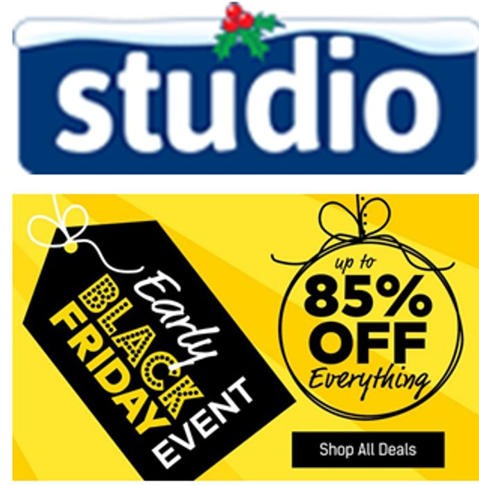 Black Friday Deals at Studio Have Started Early on Now