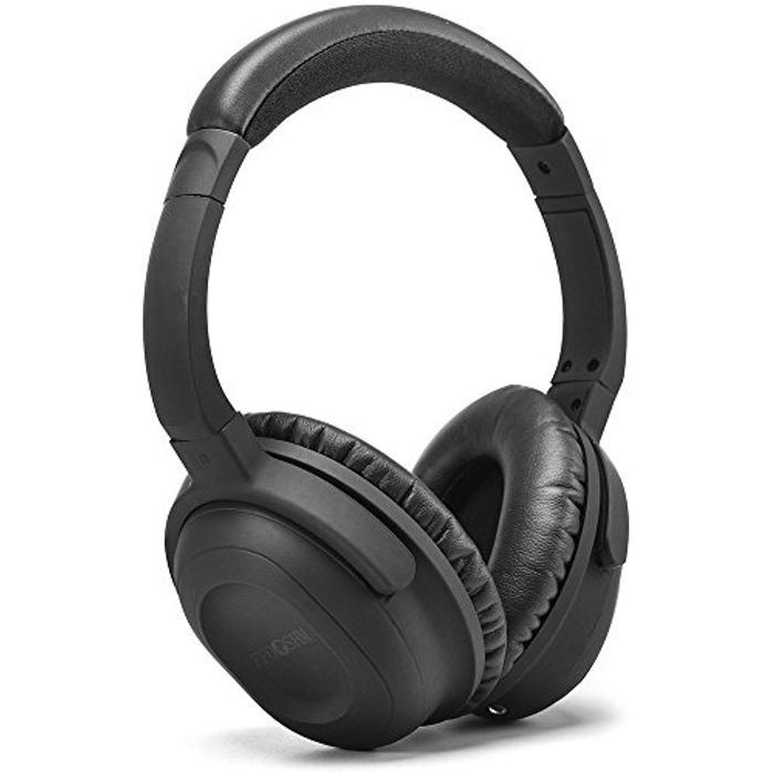EFOSHM Battery Active Noise Cancelling Over-Ear Wired Headphones