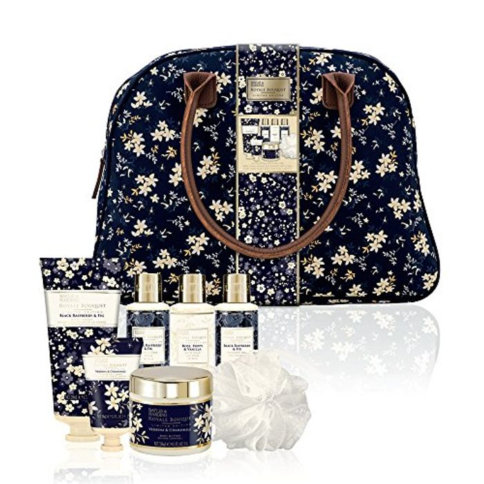 Baylis & Harding Royale Bouquet Relax and Retreat Weekend Bag Today Only