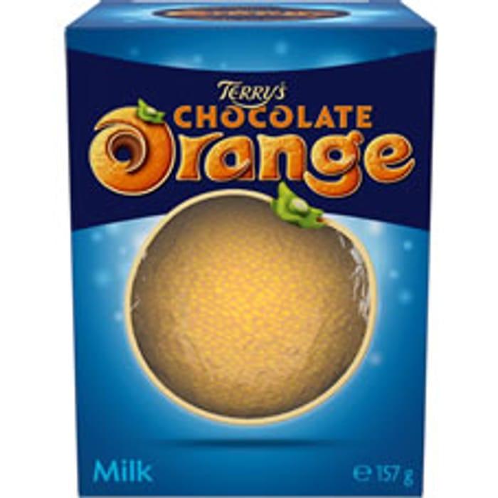 Terry Chocolate Orange Milk Ball 157g Free C&C