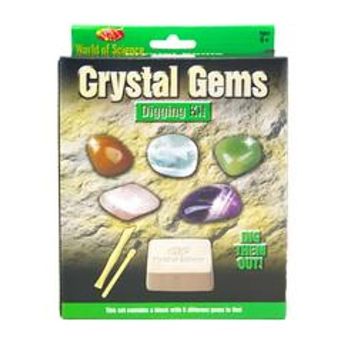 Crystal Gems Excavation Digging Kit