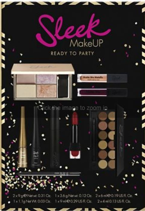 Boots Star Gift - 1/2 Price on Sleek MakeUP Ready to Party Kit.