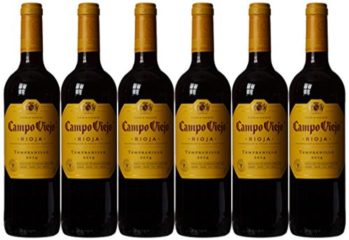 Campo Viejo Tempranillo Rioja Wine, 75 Cl (Case of 6)