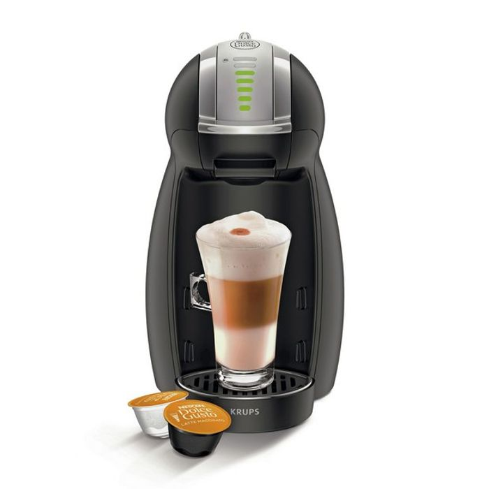 NESCAFE Dolce Gusto Genio Automatic Coffee Machine - Black Half Price at Argos