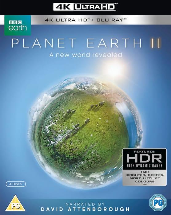 Planet Earth Ll 4K Ultra HD + Blu-Ray Edition