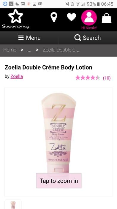 Zoella Body Lotion Half Price
