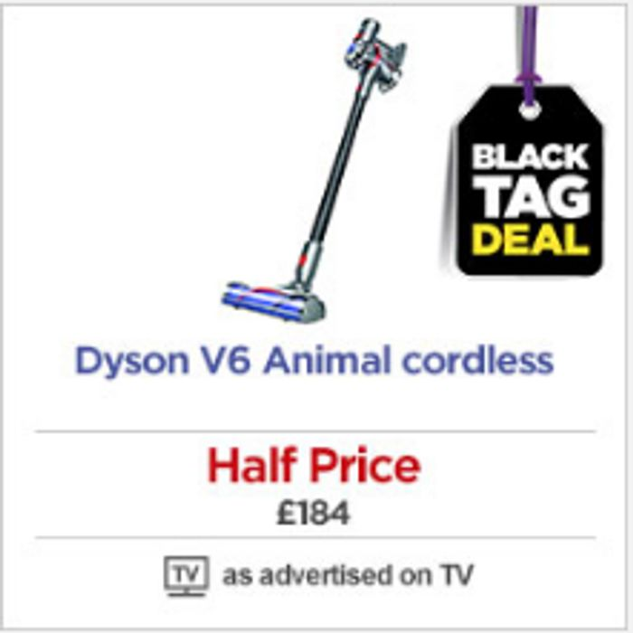 AWESOME DEAL! HALF PRICE DYSON V6 Animal Cordless Vacuum Cleaner