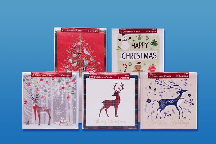 Free Box of Christmas Cards - 02 Priorities - WH SMITH High Street Store