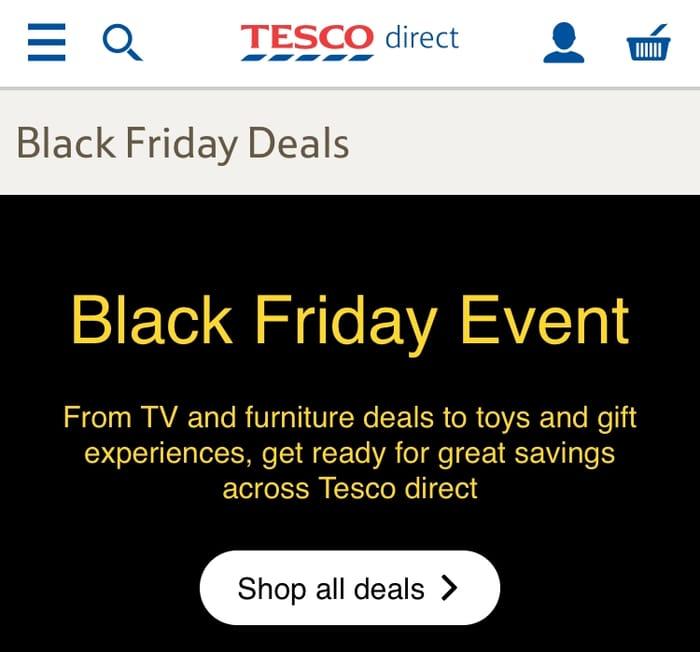 Tesco Black Friday Sale!!!