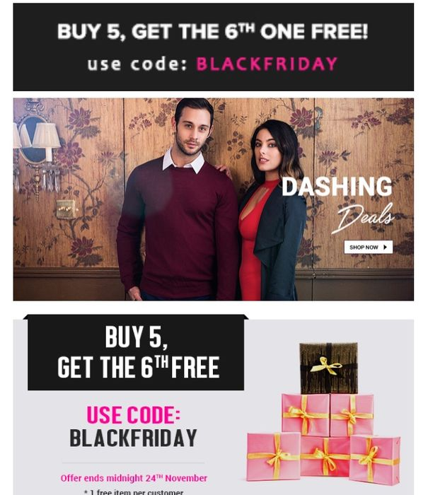 Buy 5 Items, Get the 6th Item Free