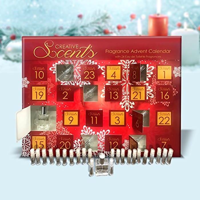 Creative Scents Fragrance Perfume Womens Christmas Advent Calendar Free Del